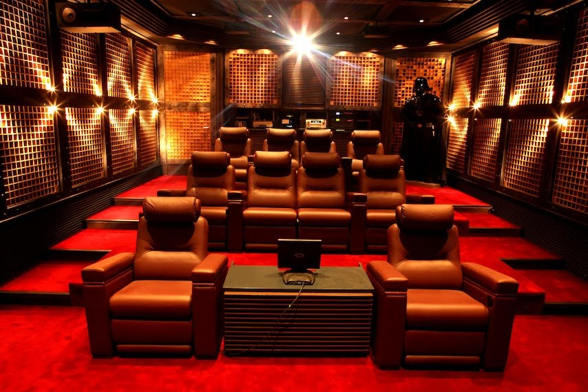 G n ration image et son home sweet home cinema - Home cinema salle dediee ...