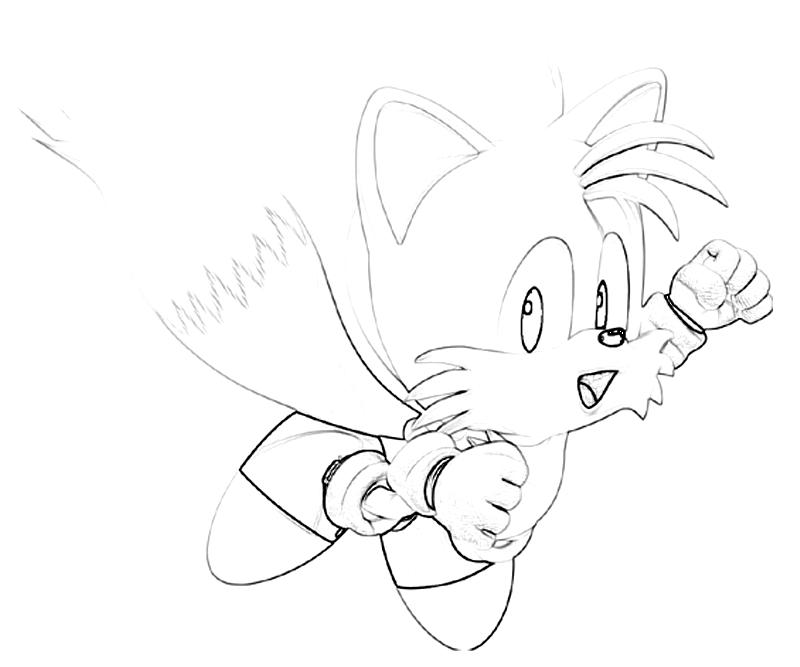 Sonic Generations Tails Cute Surfing