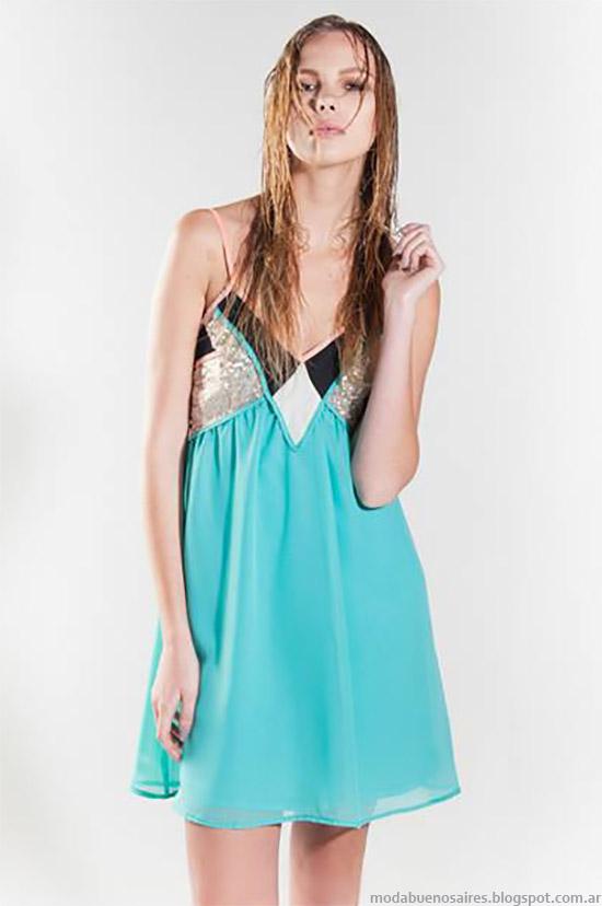 Moda primavera verano 2015 La Cofradia vestidos primavera verano 2015.