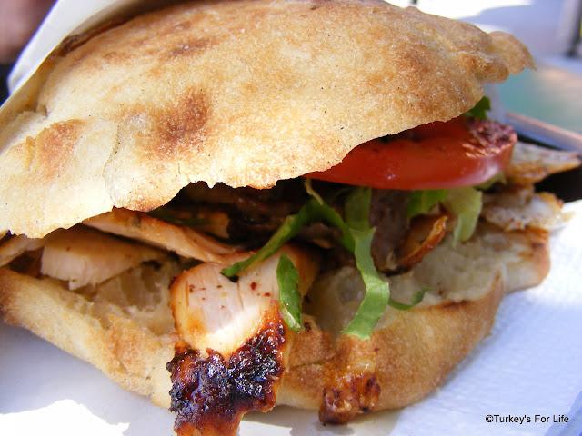 Turkish Food - Karışık Döner Kebab, Izmir