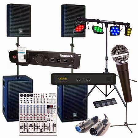 P.A. SOUND SYSTEMS