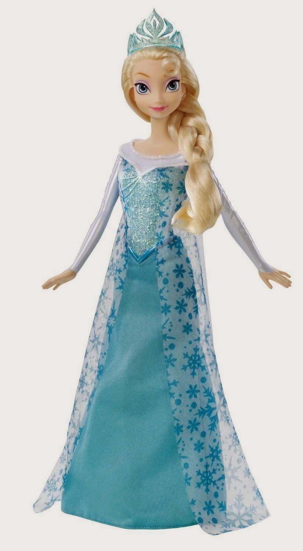 JUGUETES - DISNEY Frozen   Elsa Purpurina | Muñeca  Producto Oficial | Mattel | A partir de 3 años