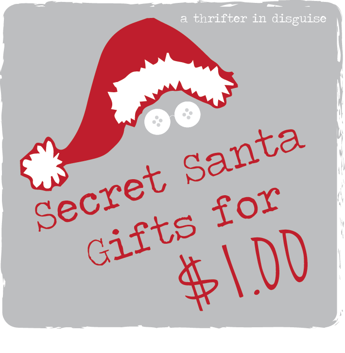 A thrifter in disguise secret santa saturday gifts for a for Fun secret santa gifts