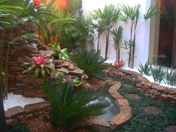 37 ide desain taman rumah yang indah desain denah rumah