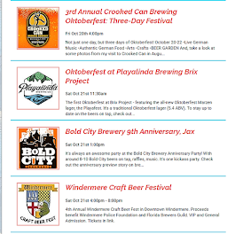 On Tap Events: 10/21 Weekend