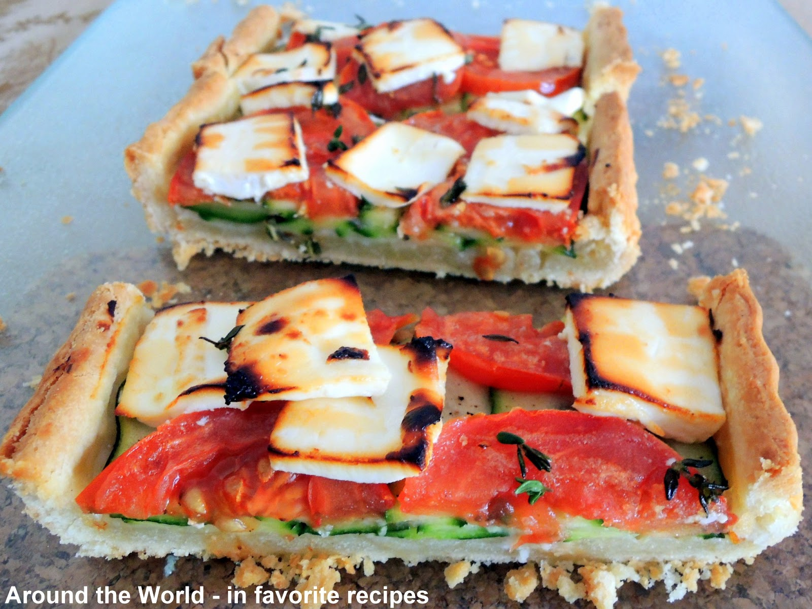... the World - in favorite recipes: Pies, Pizzas, Tarts, Quiches