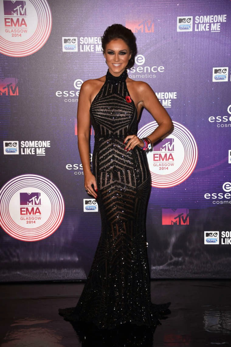 Vicky Pattison at MTV EMA's 2014 in Glasgow