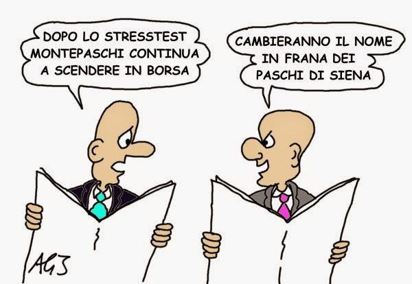 MPS, banche, stresstest