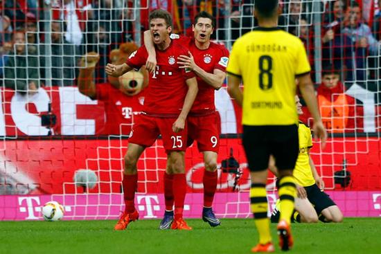 Bayern de Munique 5 x 1 Borussia Dortmund - Bundesliga 2015/16