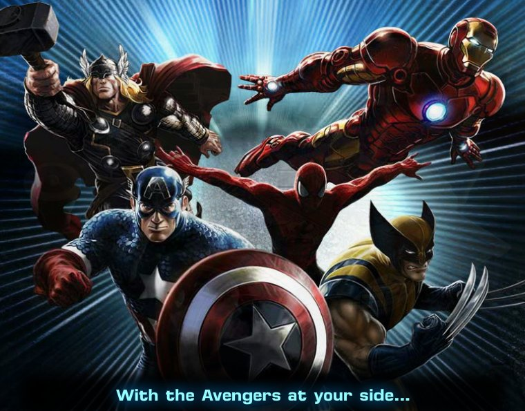 And plan to conquer it in the game named marvel avengers alliance