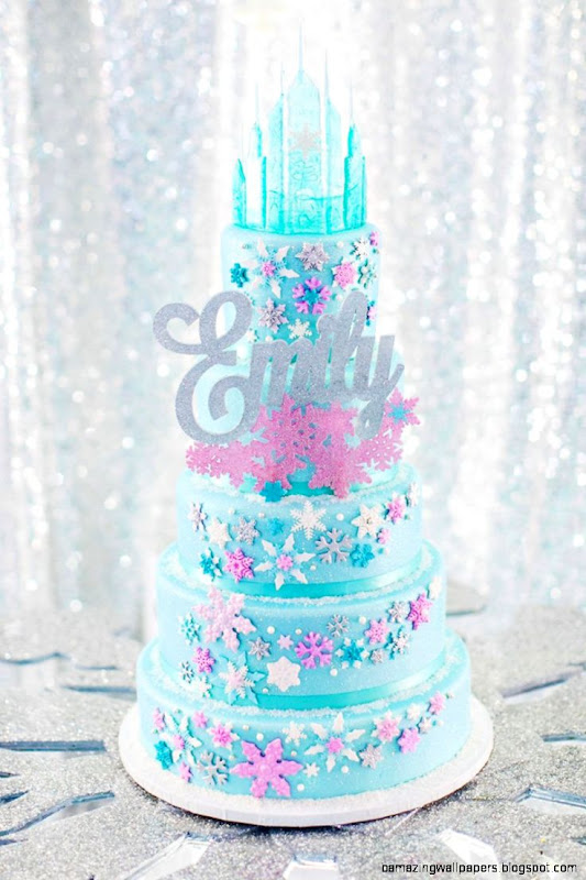 Over the Top FROZEN Birthday Party PART 2   Ice Castle Party