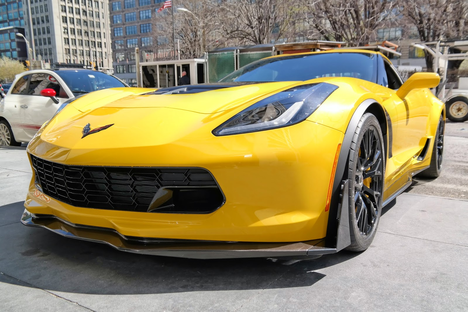 Corvette C7 Z06 Carbon Fiber Lip