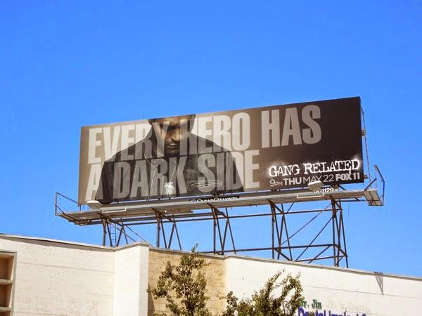 Gang Related season 1 billboard