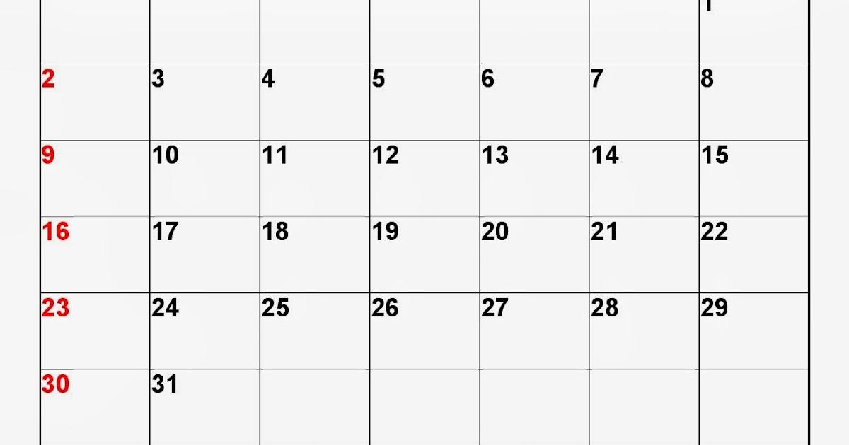 Excel 2014 Calendar Template Mandegarfo
