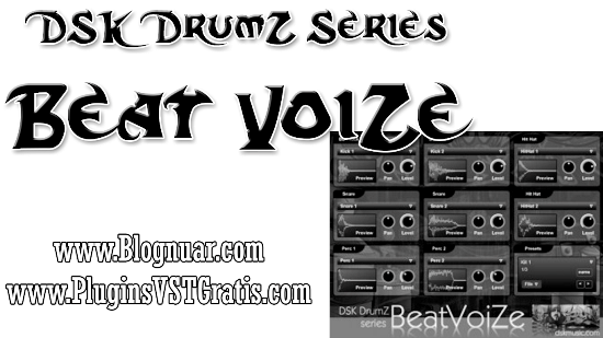 Vídeo - DSK DrumZ BeatVoiZe - VST de Beat Box