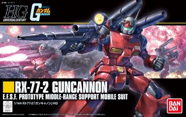 bandai gundam model kit guncannon century