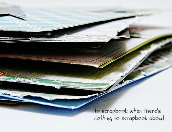 scrapbbooking prompts by Sian