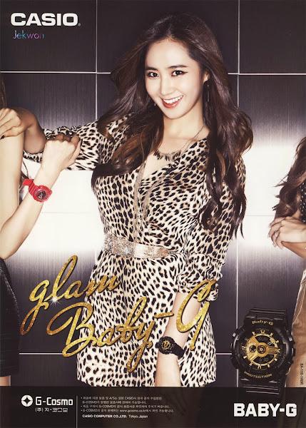 Yuri SNSD Baby-G Glam 2014