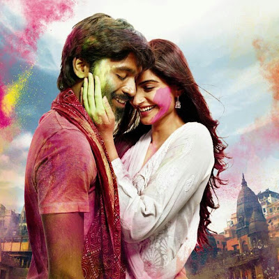 Sonam and Dhanush in Raanjhanaa