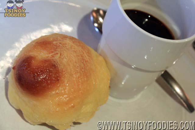 tsokolate eh and toasted ensaimada
