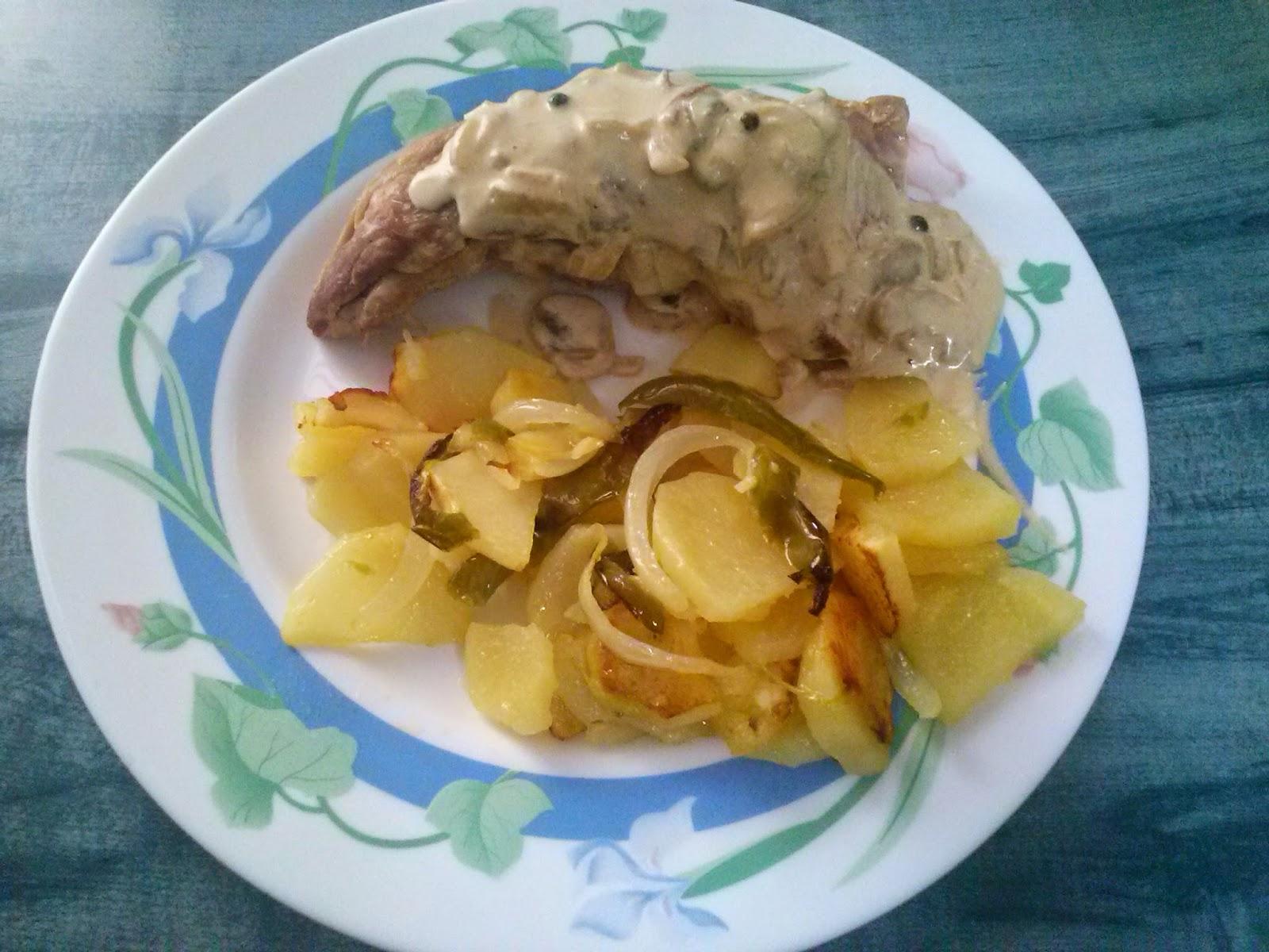 El rinc n cartame o de ana solomillo a la pimienta verde for Cocinar patatas a lo pobre
