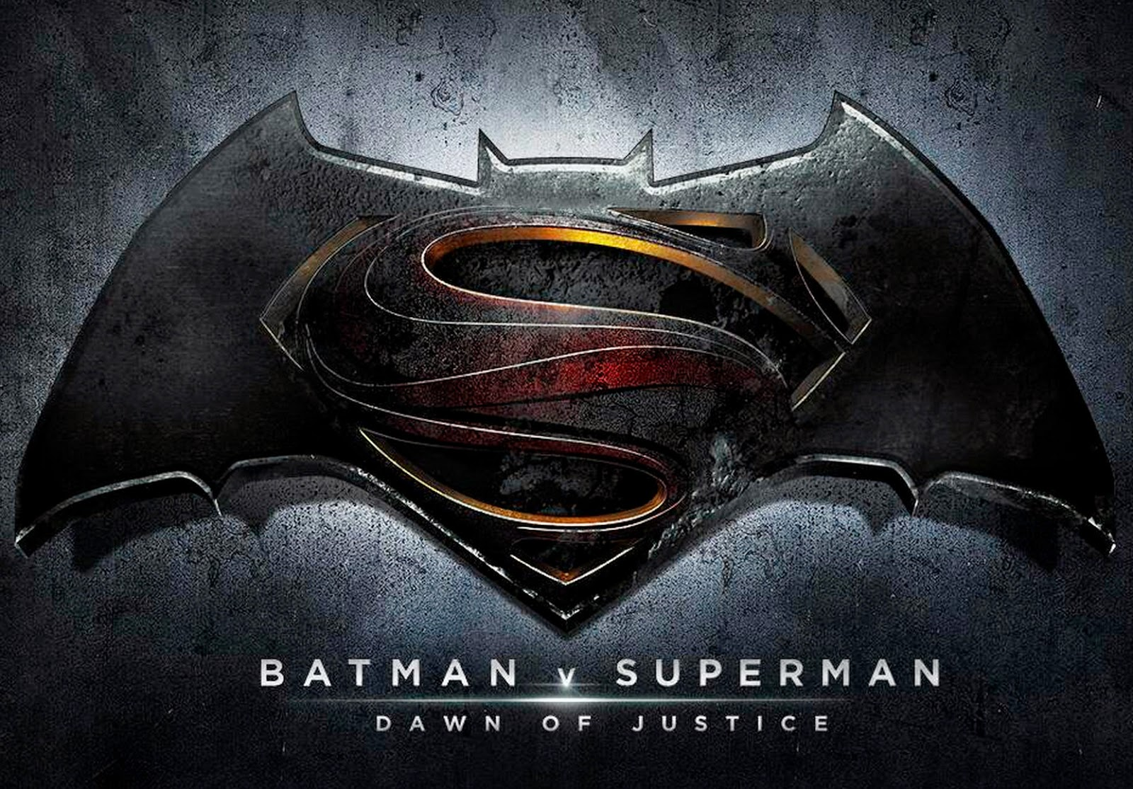 Batman v Superman: Dawn of Justice - Official Title & Logo Unveiled