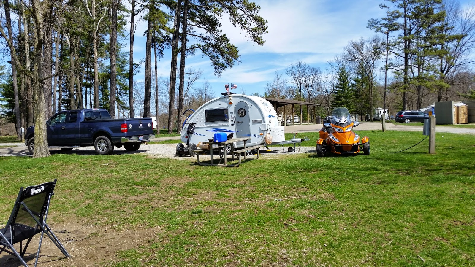 Alan carie 39 s blog 2015 04 04 winton woods campground for Winton woods cabins