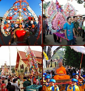 Lanna Crafts - Picture of Poy Luang ceremony