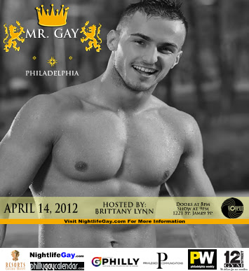 The Mr. Gay Philadelphia competition returns in a little over two weeks.