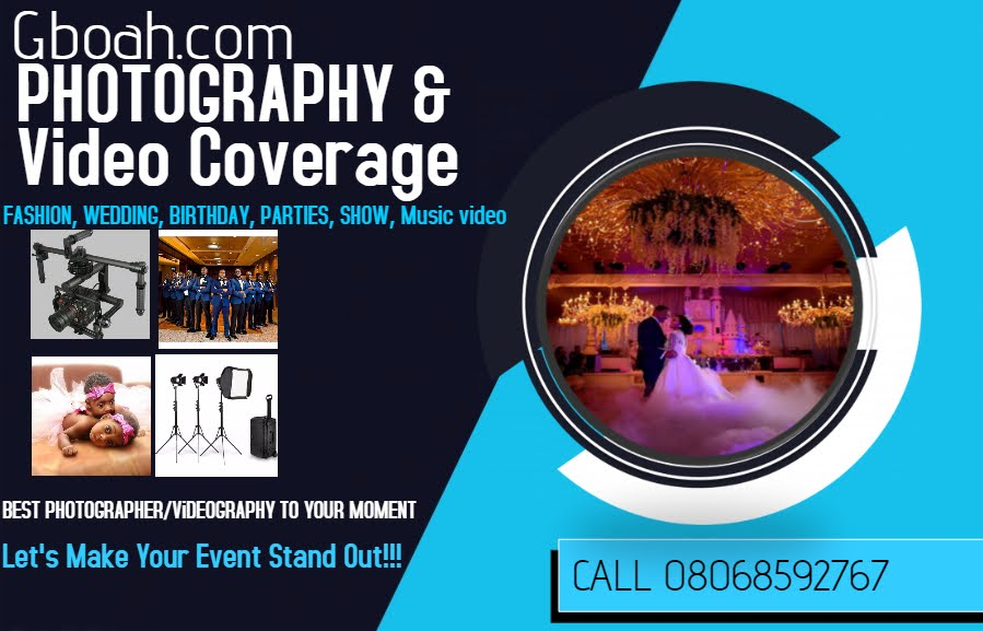 Gboah.com Photography & Video Coverage