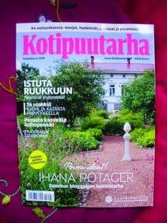IHANA KOTIPUUTARHA-lehti