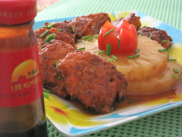 Carrot Patties with Oyster Sauce Recipe