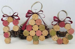 manualidades navideñas, manualidades para colgar en el árbol de navidad, manualidades navideñas lindas