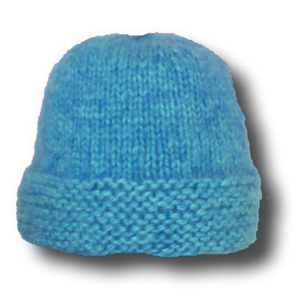 Knit a simple hat (Beanie) – Free Knitting Patterns