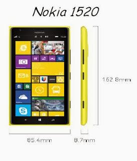Nokia Lumia 1520 ships to Australia
