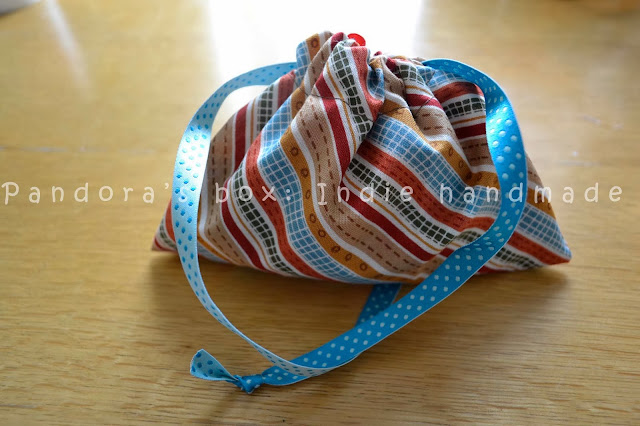 Drawstring bag: an easy tutorial