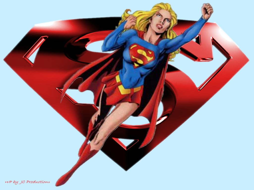 Dont you know that sticks and stones cant harm a Supergirl