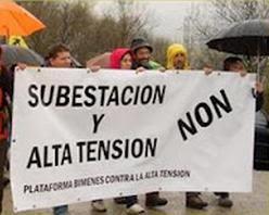 BIMENES CONTRA LA ALTA TENSIÓN