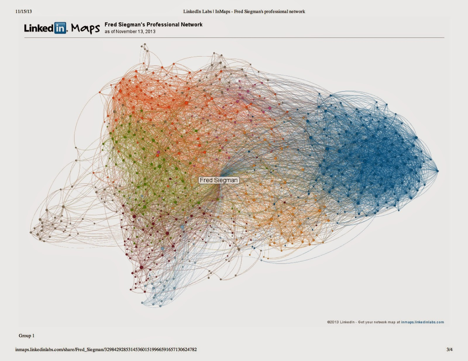 thoughts from a serial connector® strategist visualize your linkedin network