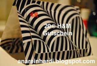 HIER KLICKEN - 20€ H&M Gutschein