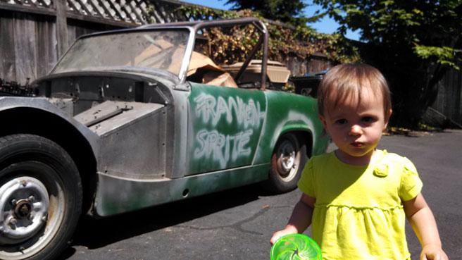 Sorella Stoute, 14 bulan bersama kereta Austin Healey Sprite 1962  yang 'dibeli' secara tak sengaja di eBay.