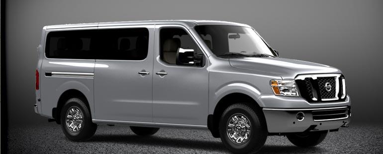 Vacaville Nissan Fleet: Nissan 12 Penger First of its Kind