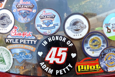 Collection of Charity Ride Stickers #KPCHARITYRIDE