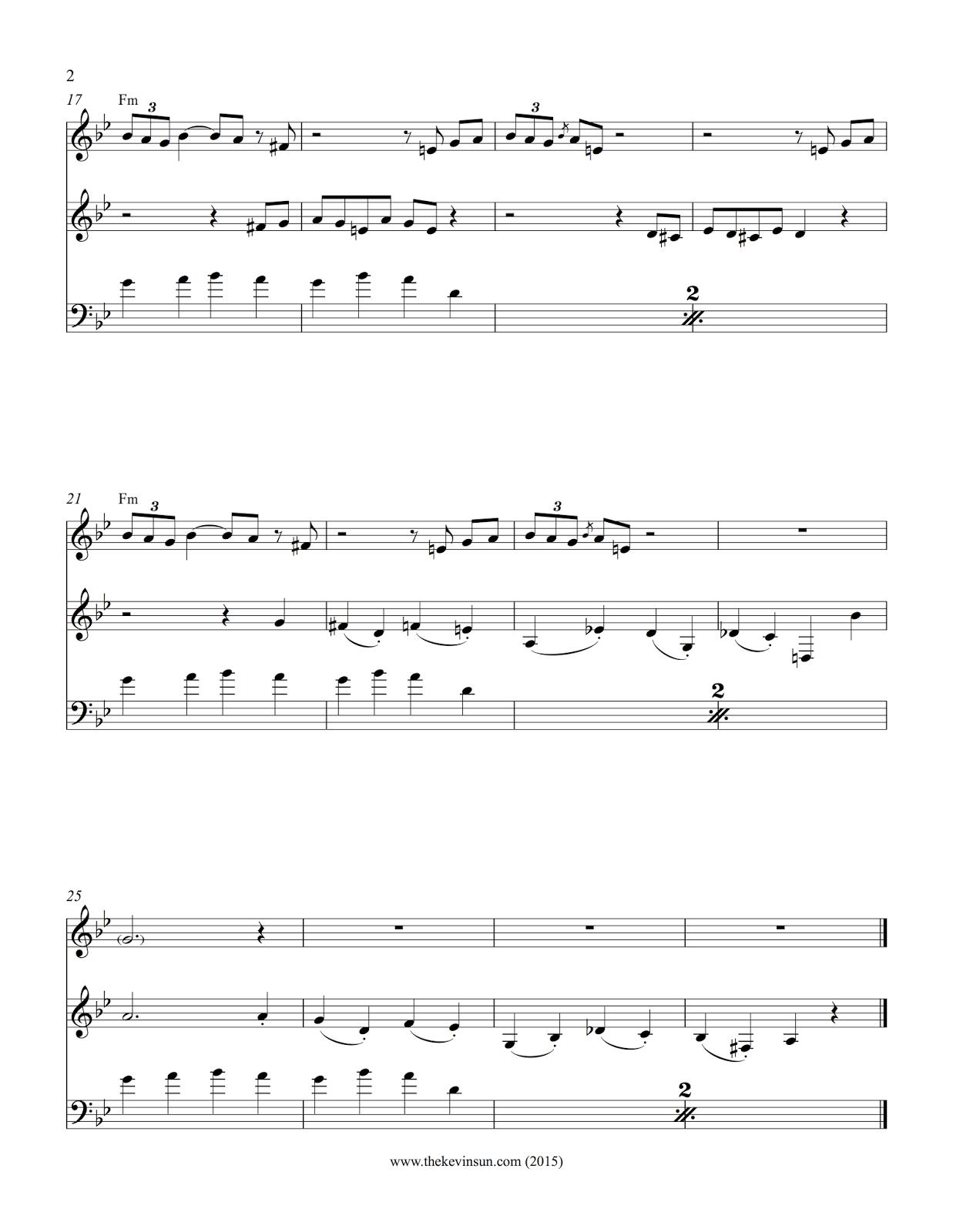 It Don't Mean a Thing — Dizzy Gillespie & Stan Getz arrangement 2