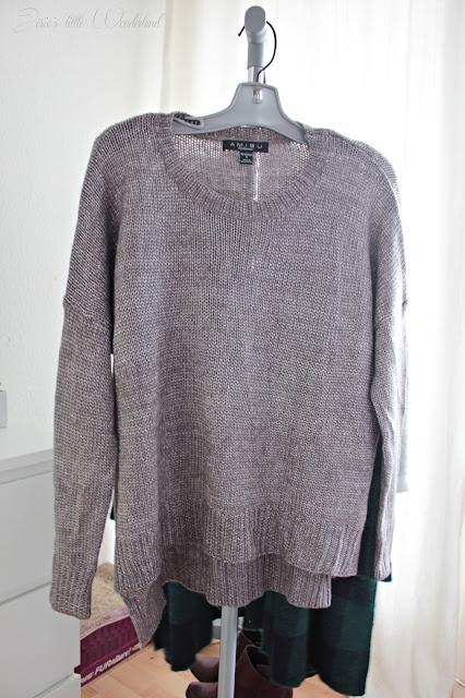 Fashion | Novemberausbeute, blog, shoppingausbeute, josie´s little wonderland, november, pulli, new yorker