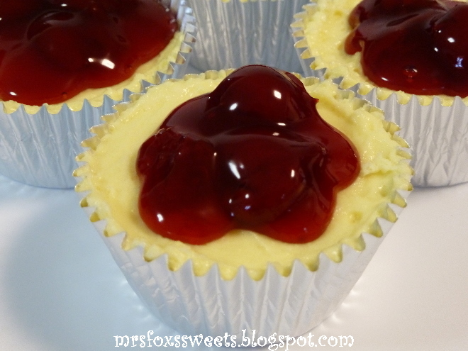 Cherry Cheesecake Cupcake Recipe