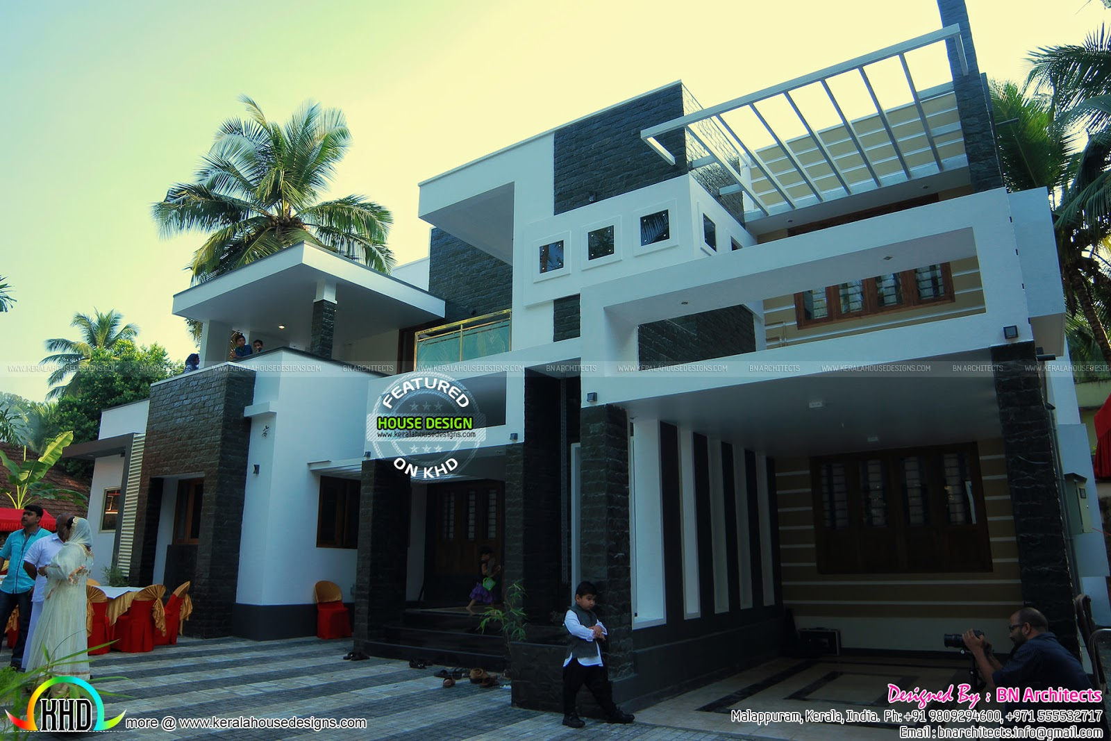 January 2016 kerala home design and floor plans for Modern house in kerala
