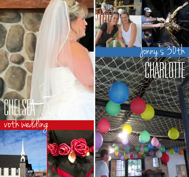 Charlotte Senini and Chelsea Watson Weekend - November 23-25, 2012