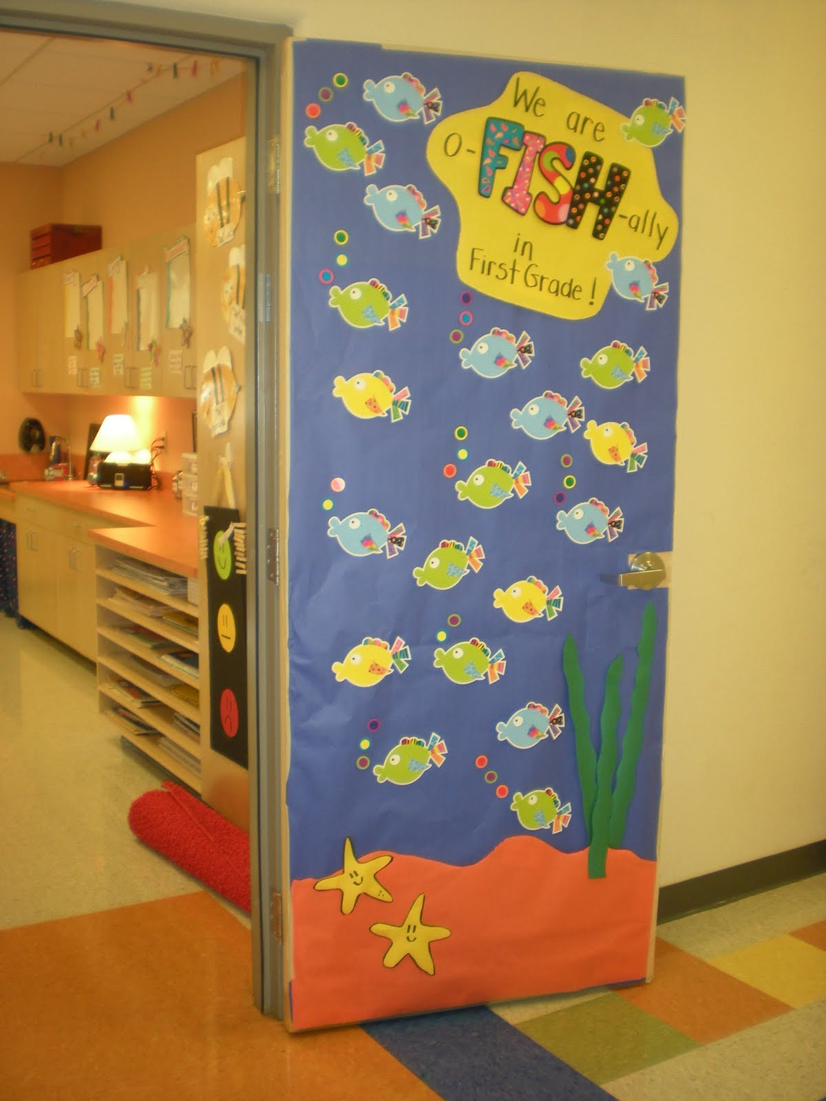 Classroom Door Ideas For Back To School ~ The good life august