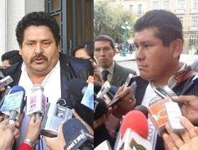 por fin. dos legisladores de Sucre acusaron a los masistas Avalos y Surco de instigar al contrabndo